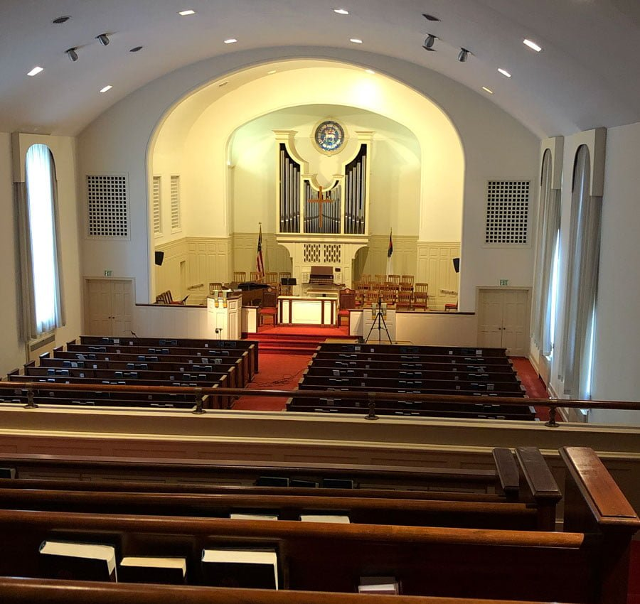 Friedland Moravian Church Sanctuary